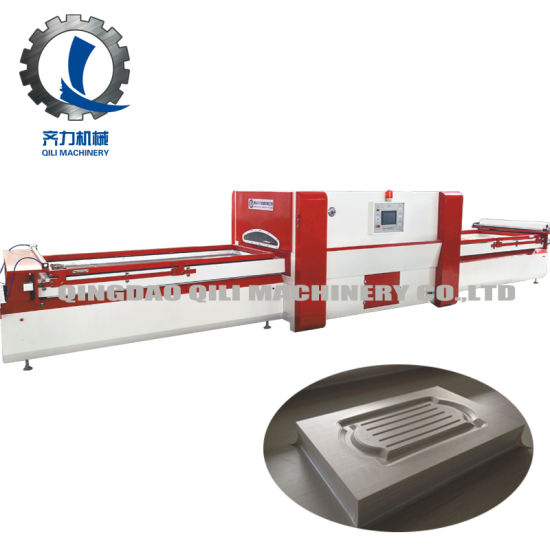 Wood Door Cabinet Vacuum Membrane Laminating Press Machine