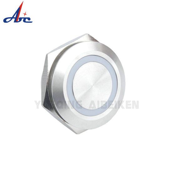 25mm Short Length Momentary 1no LED Push Button Switch