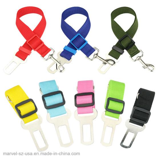 Pet Dog Seat Belt Puppy Pet Supplies Car Seatbelt Dog Harness Leash