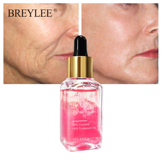 Anti Age Moisturizer Skin Firming Tightening Serum Rose Essential Oil pictures & photos