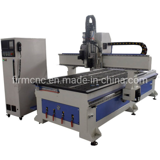 Atc CNC Oscillating Knife Leather Cardboard Carton Cutting Router Machine