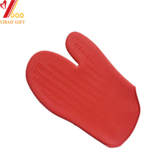 Food Grade Microwave Silicone Oven Mitts/BBQ Gloves