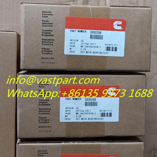 Cummins Qsx15 Engine Main Bearing 3800298 5406110
