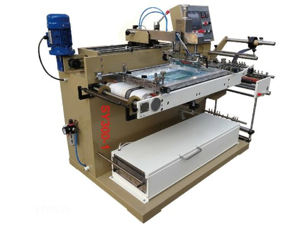 High Speed Automatilc Single Color Horizontal Screen Printing Machinery