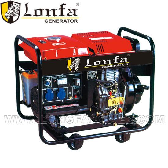 7kVA 8kVA Open Frame Small Portable Electric Diesel Generator Set