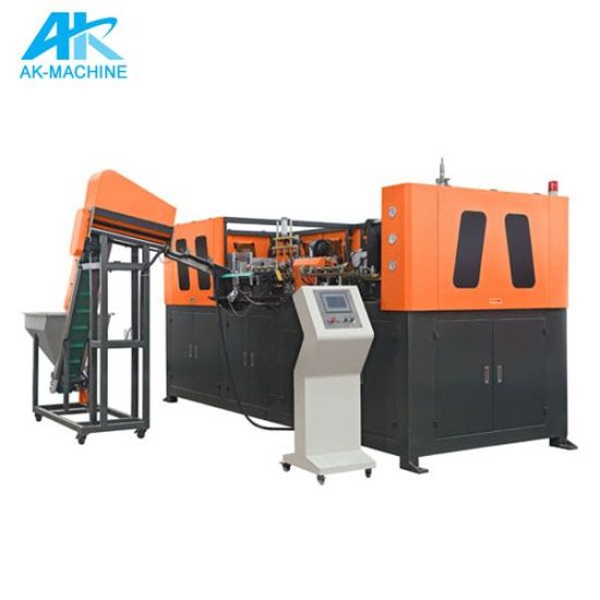 Servo-Driven High Speed Automatic Plastic Pet Mineral Water Juice Wine Bottle Making Blow Blowing Moulding Molding Machine Price