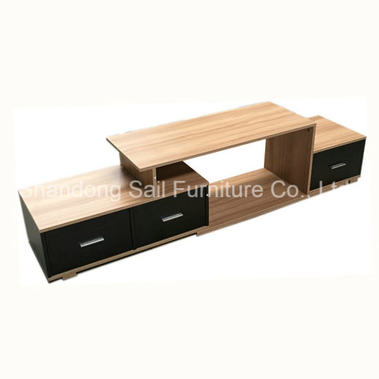 Chinese Supplier Wood Modern TV Stand Furniture