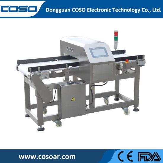 Touch Screen Belt Conveyor Metal Detector for Food Industrial