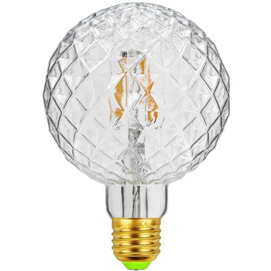 Vintage Light Bulb G95 4w E27 220 240v