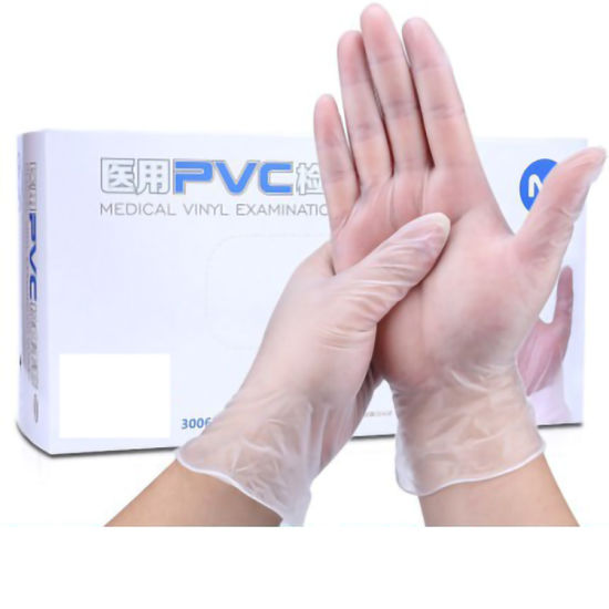 Disposable Medical Vinyl Examination Gloves Ambidextrous Medical Inspection Latex Rubber Gloves