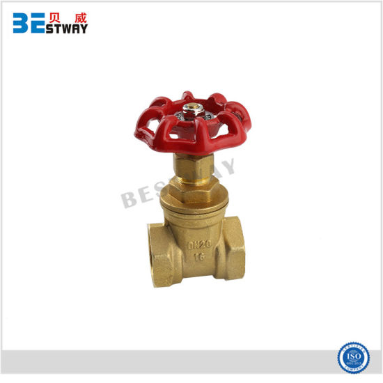 "Strict Quality Brass Gate Valve with 1/2""-4""Inches pictures & photos"