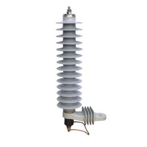 42kv 10ka High Voltage Zinc-Oxide Polymer Surge Arrester with Kema