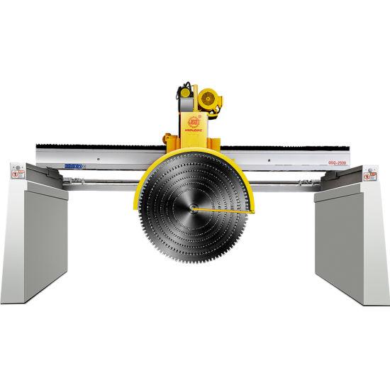 Monthly Deals China Bridge Multi-Blade Granite Marble Cutter Block Cutting Machine for Granite Marble Stone Cutter Machinery