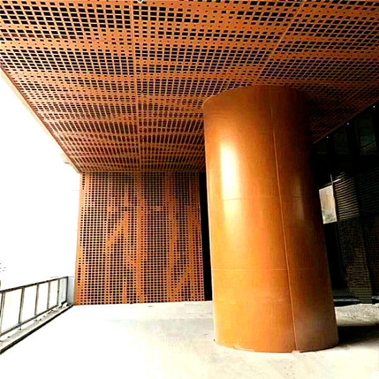 Decorative Laser Cut Metal Board Perforatd Panel Aluminum Solid Panel