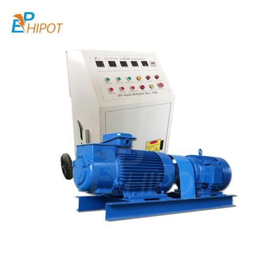 Transformer Induction Withstand Voltage Test System Transformer Dvdf Test Set Motor Generator Test System