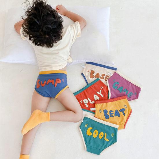 Wholesale Sexy Underwear Kids Wear Boys Sports Wear Girl Pants Kids Lingerie