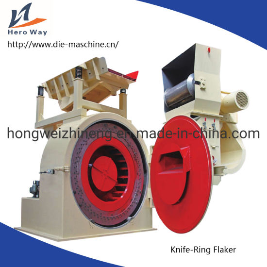 Flaker Machine with Knife Ring for Making Wood pictures & photos
