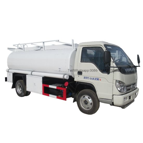 Foton Forland 3000liters 4000liters Fuel Oil Truck for Sale
