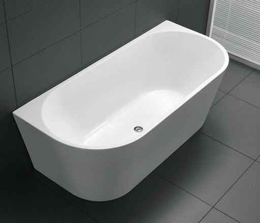 Upc Freestanding Acrylic Bathtub Back to Wall Standing