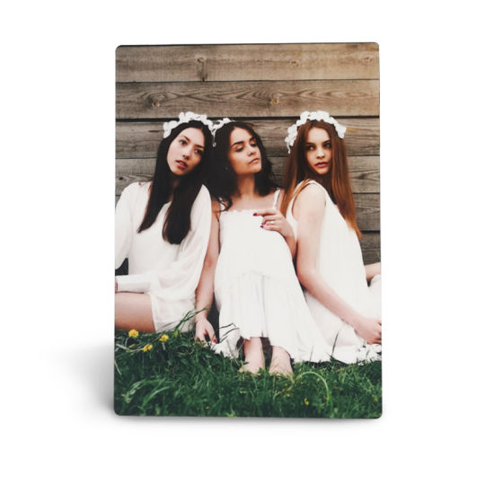 High Clear Heat Transfer Printing Aluminum Board Metal Picture Photo Frame for Christmas