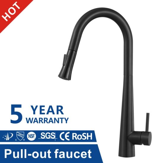 304 Stainless Steel Kitchen Bathroom Toilet Basin Water Hand Shower Bath Shower Sink Mixer Black Faucet Tap