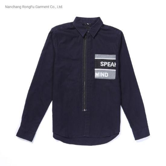 Men's Fashion Simple Casual Long Sleeve Shirt