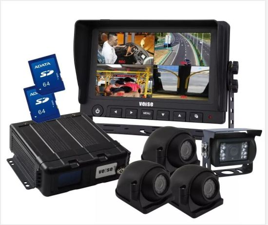 7 Inch Ahd Truck Rearview System IP69K Waterproof Car Tractor Camera