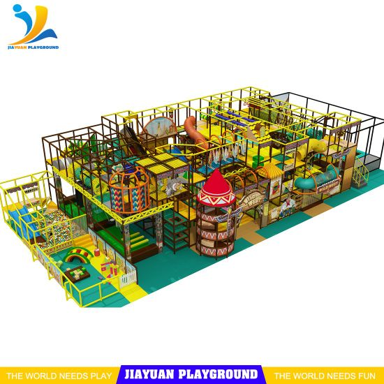 G3.0 Customized Playground Indoor Trampoline Ninja Warrior Obstacle Course