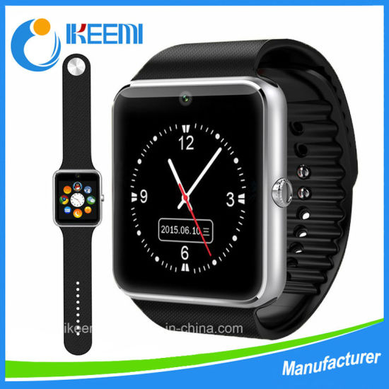 2018 Best Selling Smartwatch Gt08 Smart Mtk 6261d Smart Watchsmart Watch Camera