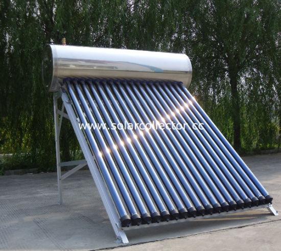 240L Stainless Steel Heat Pipe Pressurized Solar Water Heater