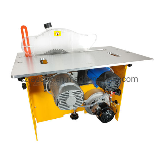 Clean Rail Type Woodworking Simple Folding Sliding Table Saw