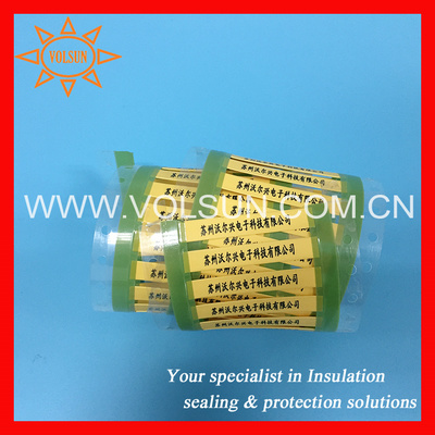 Thermal Transfer Heat Shrinkable Wire Identification Sleeves pictures & photos