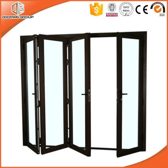 4 Panels Thermal Break Aluminum Bi Fold Door Powder Coating  sc 1 st  Beijing Doorwin Window u0026 Door Co. Ltd. & China 4 Panels Thermal Break Aluminum Bi Fold Door Powder Coating ...