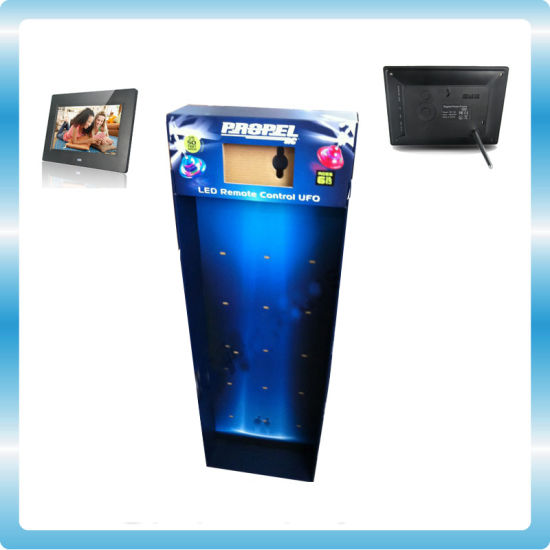 China Digital Photo Frame With Cardboard Display Battery Operated