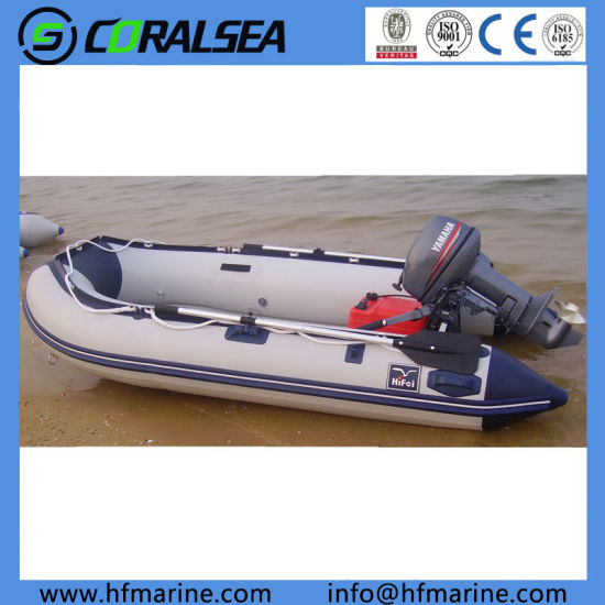 China 3 2m PVC/Hypalon/Rubber/Csm Fabric Rafting/Fishing