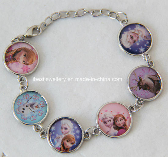 Disney Bracelet For Children Frozen Charm Anna Elsa B003