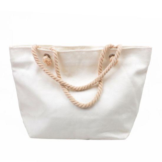 Shopping Carrier Shoulder Fashion Canvas Cotton Bag