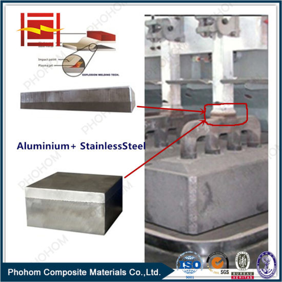 Bimetallic Transition Joints for Aluminium Smelter with Explosive Bonding Technology