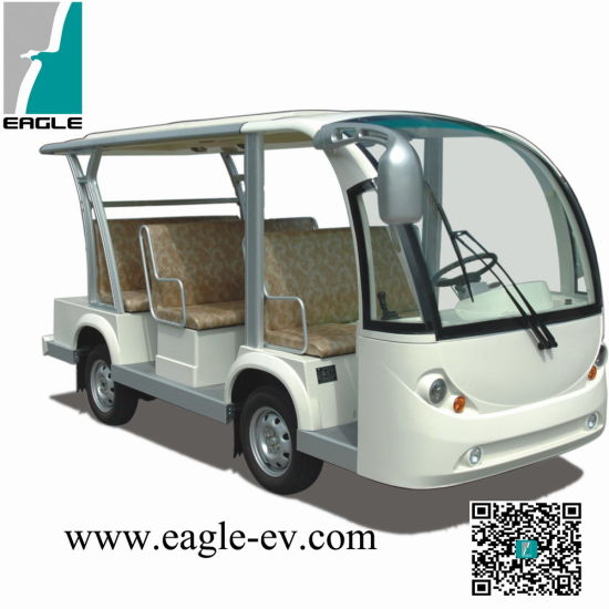 Electric Sightseeing Bus, CE Approved New Condition Cheap 8 Seats