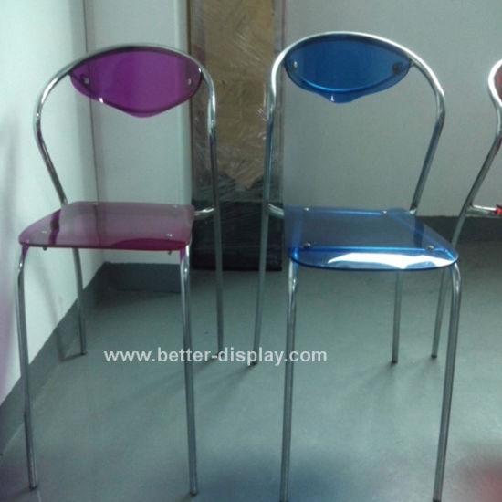 Acrylic Colored Plastic Chair (BTR-Q3013)