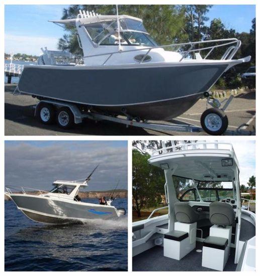 6.25m Customized Size High Speed Aluminium Sport Tour Fishing Boat Yacht