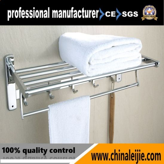 China Bathroom And Shower Clothes Wall Mounted Stainless Steel Towel