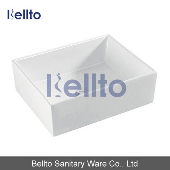 Ceramic Wash Sink for Restroom (3370)