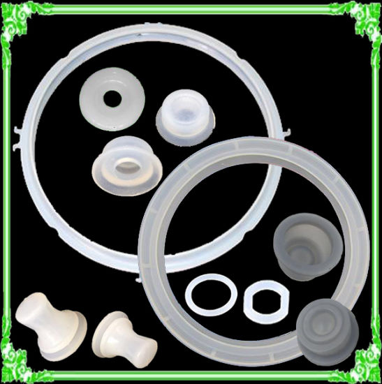 China Pressure Cooker Clear Silicone Rubber Sealing Gasket Ring ...