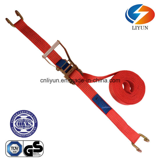 LC 2500kg 50mm Lashing Strap / Ratchet Tie Down W/Claw Hook