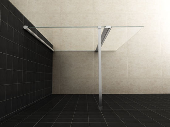 Inloopdouche Met Sanitair : China sanitair glas inloopdouche pivot fixed toughened glass shower
