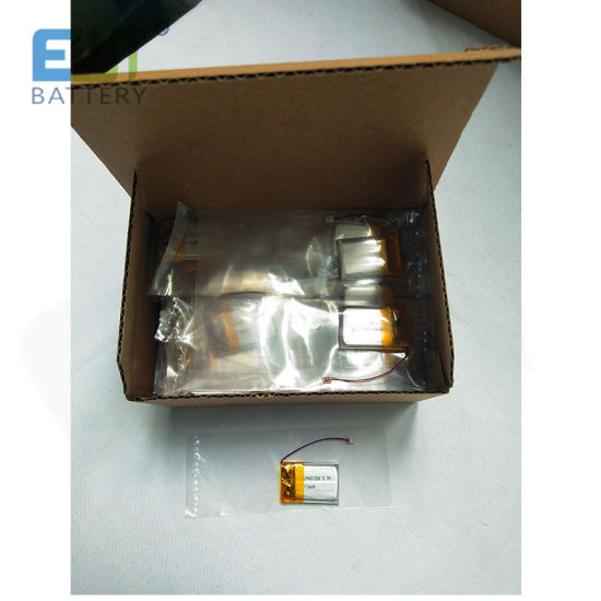 Ewt Lp401724 Battery Li-ion Polymer Rechargeable 110mAh for Small Motor Battery