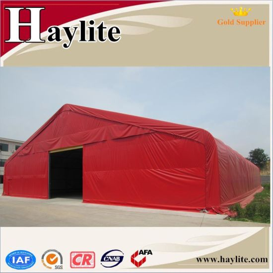 Outdoor Large Storage Tent with Anti-Fire UV Protected PVC Fabric
