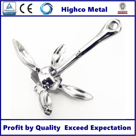 Stainless Steel Bruce Anchor Marine Parts