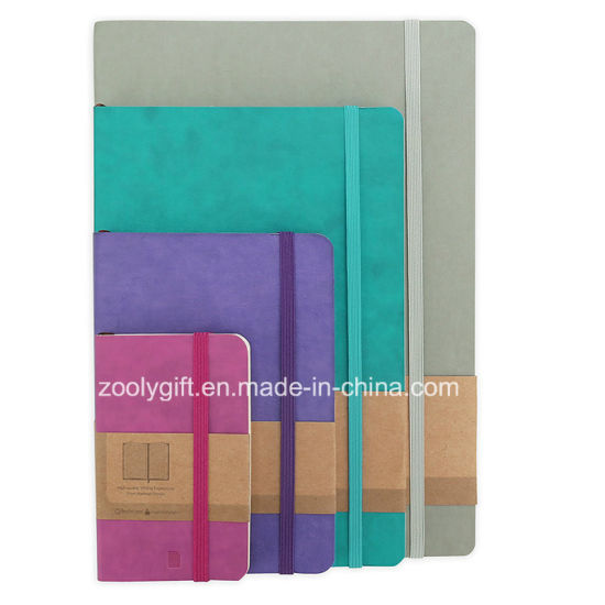 Customize PU/ PVC Leather Agenda Planner Notebooks